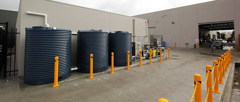 above ground rainwater storage tanks