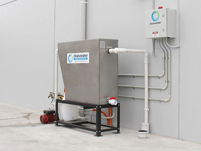 cleanwater first flush diversion system